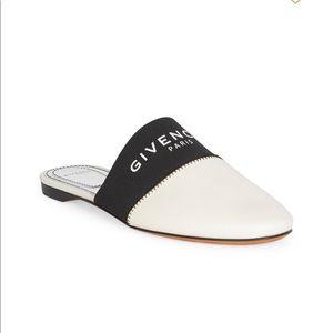 Givenchy Bedford Leather Mule Flat Slides